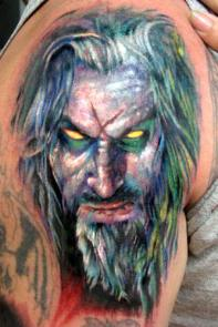 rob zombie tattoo